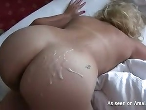Fabulous bootyful sexy GF gets doppelgaenger and fucked doggy by aroused stud